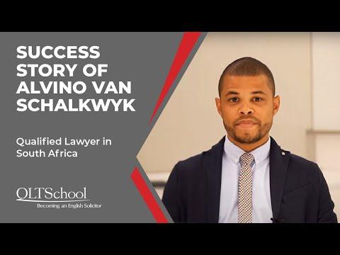 Success Story of Alvino van Schalkwyk - QLTS School's Former Candidate