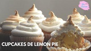 Receta Cupcakes De Lemon Pie Con Efecto Flameado Sin Soplete Elu Sweets Youtube