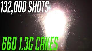 132 000 shots 660 200 shot cakes tsunami trifecta lynch imports open shoot