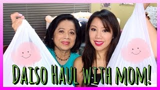 ♡Daiso Haul With Mom!♡