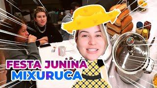 VLOGÃO: pescaria e festa junina com a família, fondue e The Sims