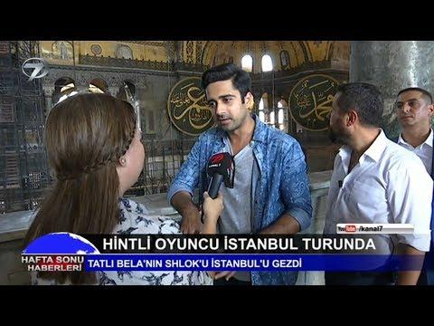Avinash Sachdev (Shlok) İstanbul Turunda