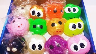 Squishy Balls Finger Family song Nursery Rhymes