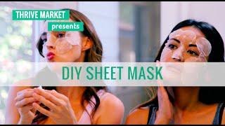 How to DIY a Moisturizing, Anti-Aging Korean Sheet Mask