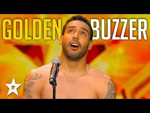 Circus Performer Gets GOLDEN BUZZER on Spain's Got Talent 2018 | Got Talent Global