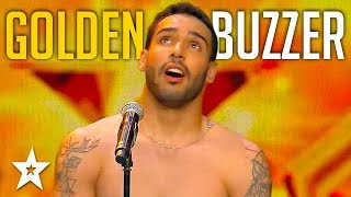 Circus Performer Gets GOLDEN BUZZER on Spain