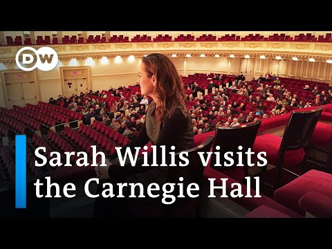 The famous New York Carnegie Hall   with Sarah Willis