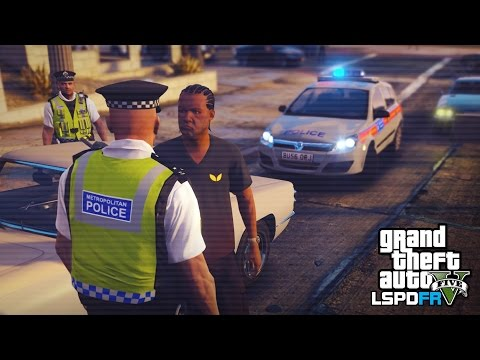 GTA 5 LSPDFR - RETRO LONDON POLICE PATROL - The British way #89