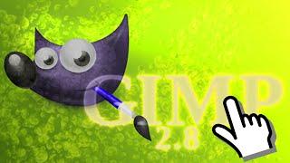 GIMP замена фона