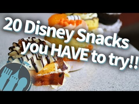 20 Disney snacks you HAVE to try!