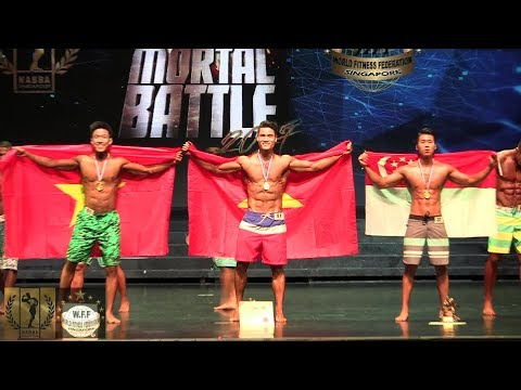 Mortal Battle 2017 - Mr Physique (Junior)