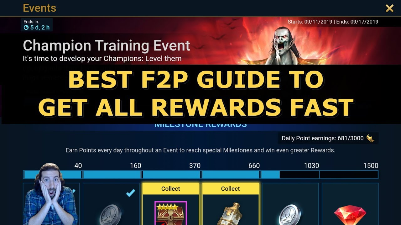 Download Raid Shadow Legends Best Champion Training Event Guide   How To Get All Rewards Tips For F2P Players