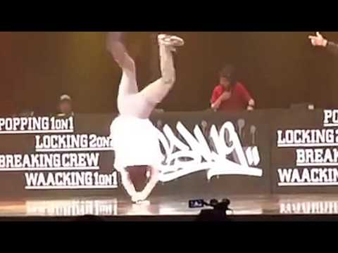 Insane 1990s and power moves from Bboy...