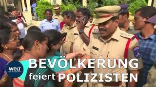 INDIEN: Polizei tötet mutmaßliche Vergewaltiger und Mörder