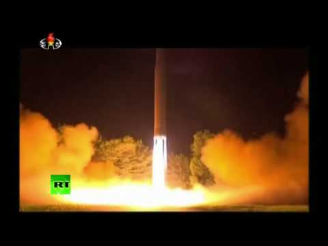 ICBM launch said to be attended by Kim released on N. Korean state TV