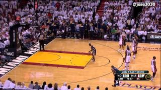 Repeat youtube video Dwyane Wade Flagrant Foul on Darren Collison - Pacers @ Heat 2012 NBA Playoffs
