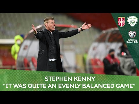 "POST MATCH PRESS CONFERENCE | Stephen Kenny - ""It was quite an evenly balanced game"""