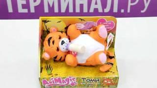 Интерактивная игрушка Томи - мой маленький тигренок(Маленький тигренок Томи -- дружелюбный звереныш, которого можно носить на руках и кормить из бутылочки...., 2011-12-25T17:44:39.000Z)