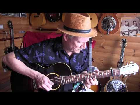 """blues in my fingers""  fingerpicking in lonnie johnson style"