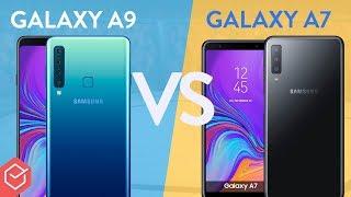 SAMSUNG GALAXY A7 2018 vs GALAXY A9 - qual melhor?  | Comparativo
