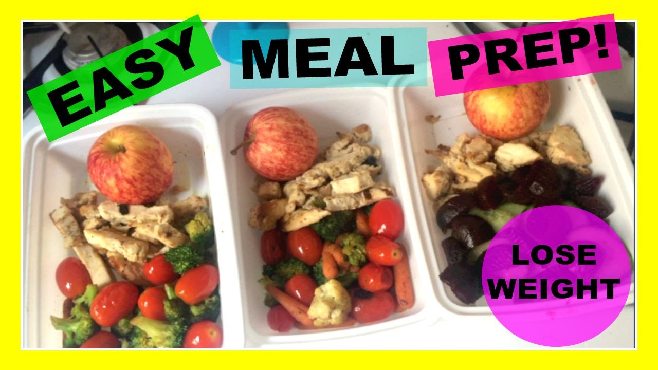 My Weekly Meal Prep Routine!