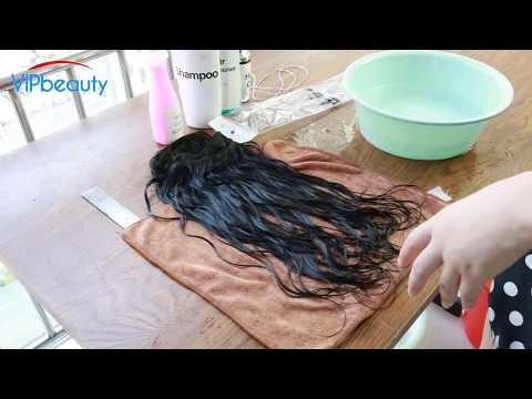 How to Wash and Protect Human Hair Weaves!! Ft. VIP Beauty Hair