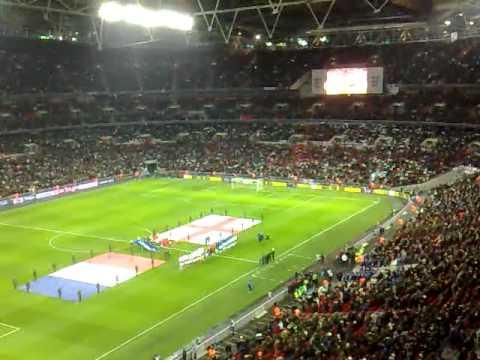 england / france national anthem hymne