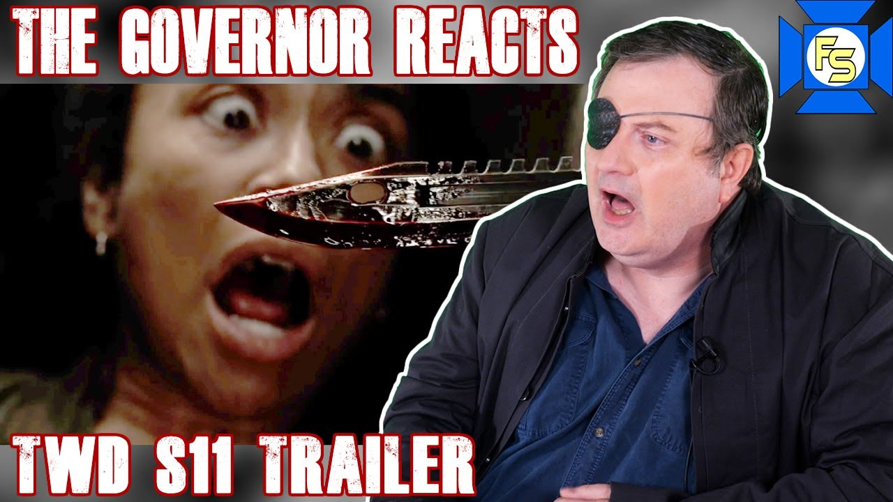 THE WALKING DEAD Season 11 Trailer Reaction – The Governor Reacts