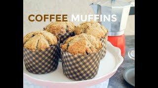 簡單4步驟咖啡鬆餅(馬芬)食譜 |Easy 4-Step Coffee Muffins Recipe