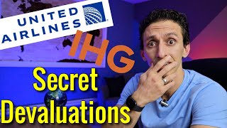 United Makes SECRET DEVALUATION & IHG Introduces Dynamic Pricing