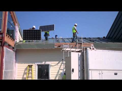 Loudoun County Youth Shelter Solar Panel Installation