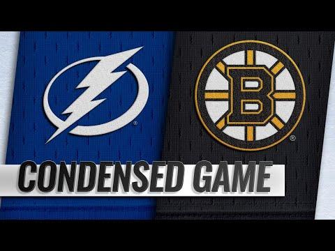 Обзор матча «Бостон Брюинз» — «Тампа-Бэй Лайтнинг»