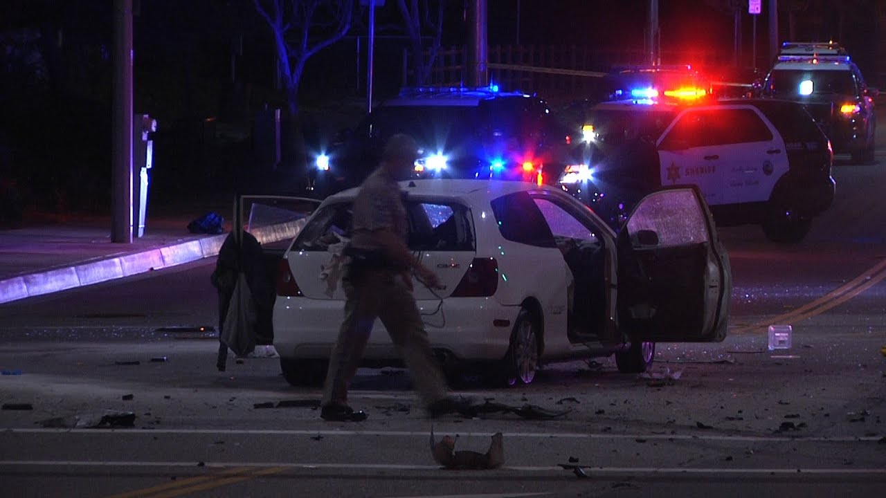 One person killed in suspected DUI crash in Santa Clarita