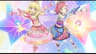 (HD)Aikatsu! -「Friend」+ Eng Sub (Episode 98) アイカツ Ep 98 星宮 いちご + 音城セイラ