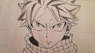 How   to   draw  Natsu (Fairy Tail)