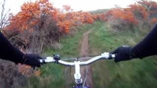 Surly Pugsley;  Baked Bean Trail (go Pro Chest Cam)