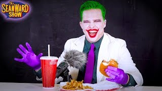 Joker ASMR Food edition - Eating Noises, Crinkling, Soft Voice, Laughter (PARODY)