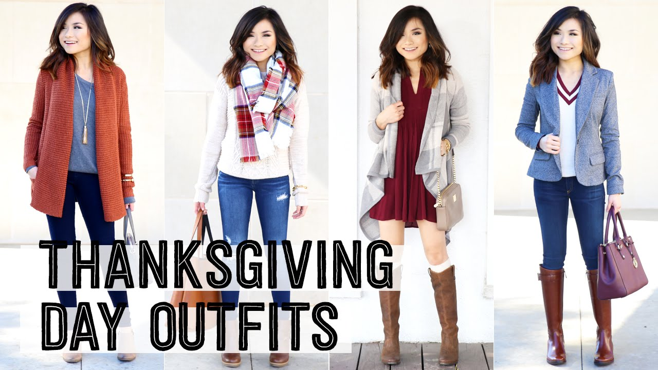 Thanksgiving Day Outfit Ideas Fall Style Fashion Lookbook Miss Louie Youtube