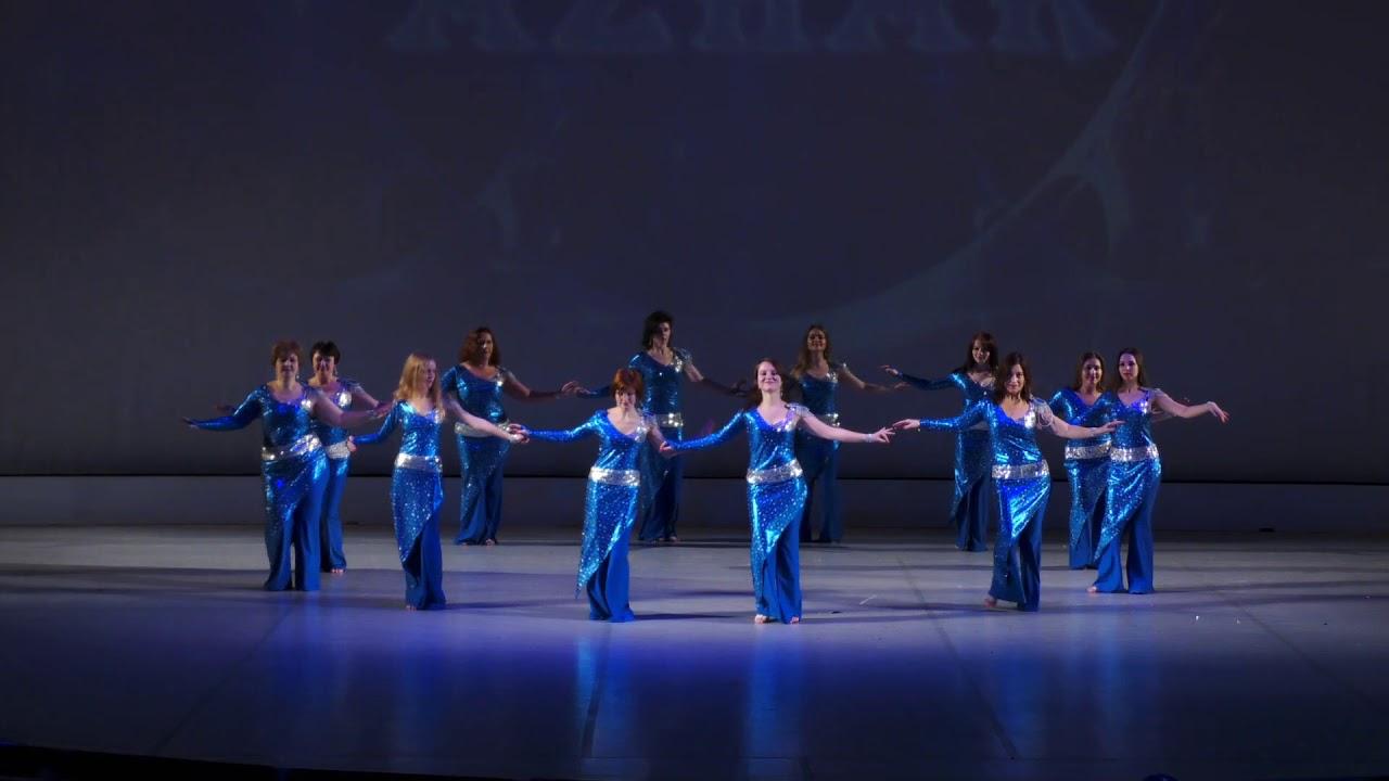 """Видео """"Отчетный концерт 20 января 2018 года (взрослые) в Концертном зале отеля Санкт-Петербург"""". Танец живота"""