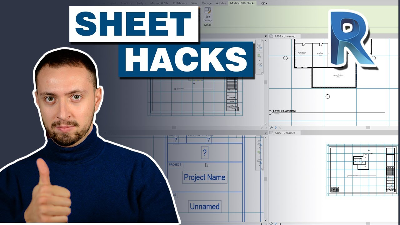 3 Hacks For Sheets in Revit Tutorial | Tips and Tricks