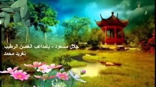 جلال مسعود - يامداعب الغصن الرطيب _ تغريد محمد