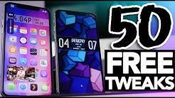 Top 50 FREE Cydia Tweaks iOS 11.3.1 Electra Jailbreak!
