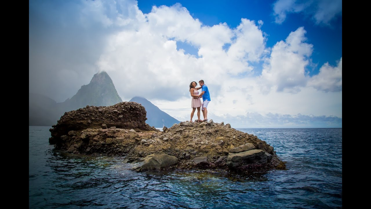 The Cutest Proposal Ever ! In St Lucia