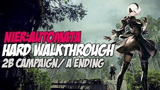NieR Automata Hard Walkthrough Chapter 3 Adam And Eve