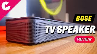 Bose TV Speaker Unboxing & Review