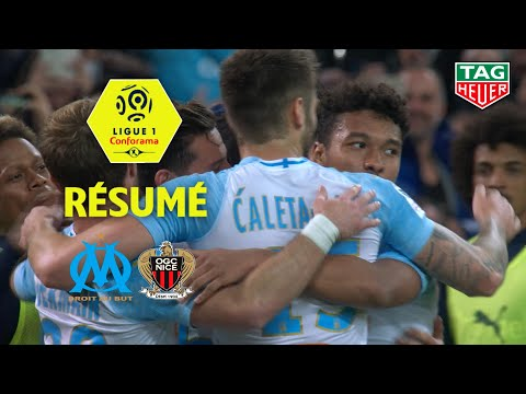 Olympique de Marseille - OGC Nice ( 1-0 ) - Résumé - (OM - OGCN) / 2018-19