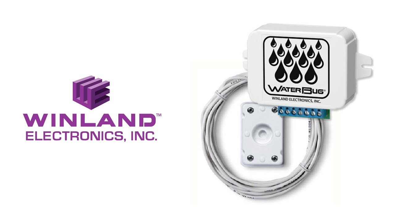 Winland WaterBug WB-200 Water Detector with 1 sensor Leak Detection System