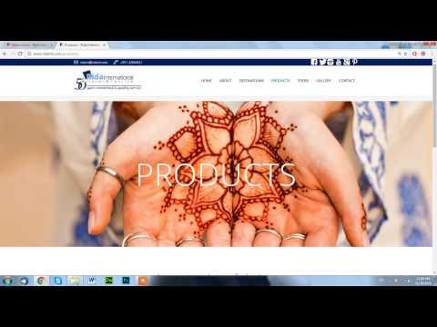 Rida International Travel & Tourism Website Design