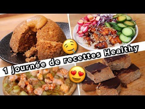 4-recettes-healthy,-fit-et-gourmandes-😍😍‼️-(petit-déjeuné/-midi-/-collation-/-soir)