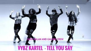 �������� ���� BLACK EAGLES STEPS - Vybz Kartel Tell you say - Sara Galan - Galang Crew - ������